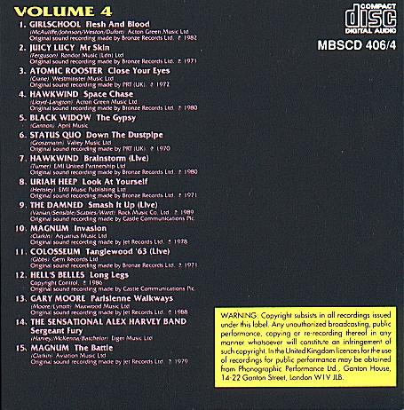 Rock Legends Volume 4