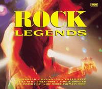 Rock Legends compilation, front cover, featuring HellsBelles