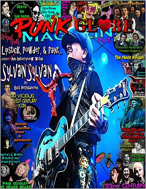 Paul Quigley of HellsBelles interview with Ginger Coyote in 'Punk Globe' Magazine, February 2012