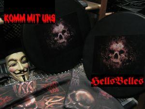 HellsBelles-Troubled-Times-3Heads-1-IMG_1608-KOMMMITUNS1+HellsBellesRedLogo