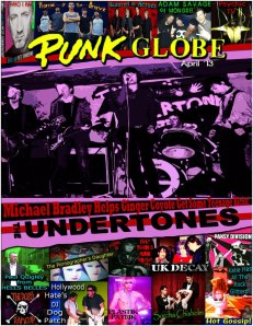 Punk Globe- April 2013 Edition - Interview with Paul Quigley 'The Belle Lord' from HellsBelles